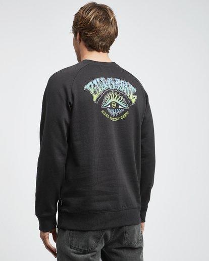 7 Iconic - Crew Pullover für Männer Schwarz Q1CR06BIF9 Billabong
