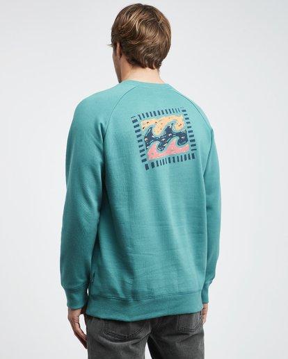 7 Iconic - Crew Pullover für Männer Grün Q1CR06BIF9 Billabong