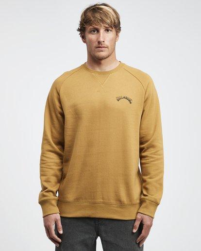 4 Iconic - Jersey de Cuello Redondo para Hombre  Q1CR06BIF9 Billabong