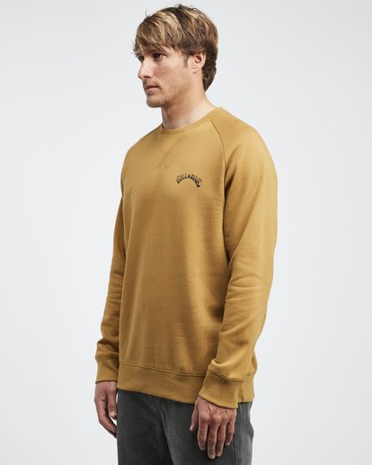 6 Iconic - Jersey de Cuello Redondo para Hombre  Q1CR06BIF9 Billabong