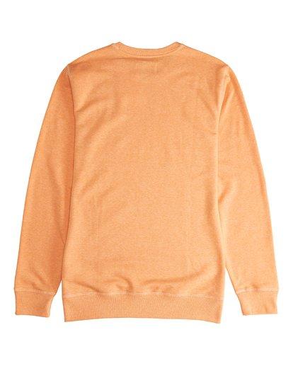 3 All Day - Crew Pullover für Männer Orange Q1FL01BIF9 Billabong