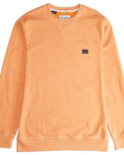 2 All Day - Crew Pullover für Männer Orange Q1FL01BIF9 Billabong