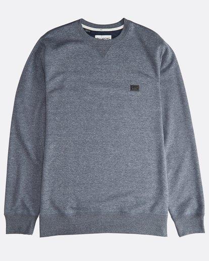 0 All Day - Crew Pullover für Männer Blau Q1FL01BIF9 Billabong