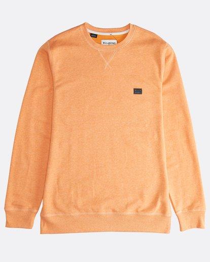 0 All Day - Crew Pullover für Männer Orange Q1FL01BIF9 Billabong