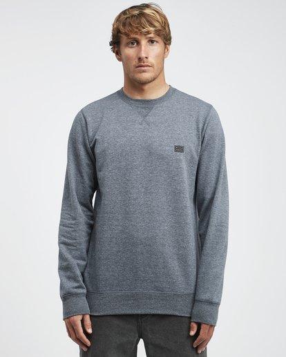 4 All Day - Crew Pullover für Männer Blau Q1FL01BIF9 Billabong
