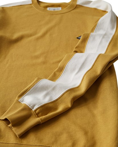 6 Wave Washed - Jersey de Cuello Redondo para Hombre Plateado Q1FL04BIF9 Billabong