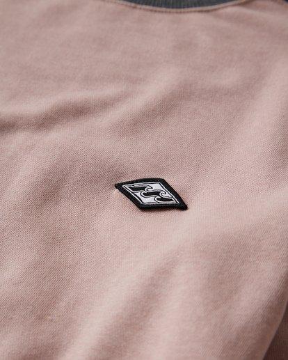 1 Wave Washed - Jersey de Cuello Redondo para Hombre Rosa Q1FL04BIF9 Billabong