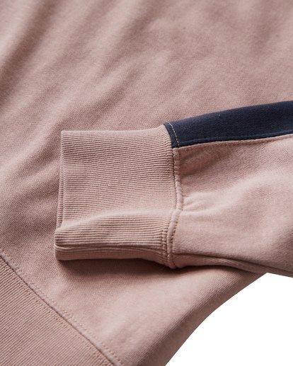 2 Wave Washed - Jersey de Cuello Redondo para Hombre Rosa Q1FL04BIF9 Billabong