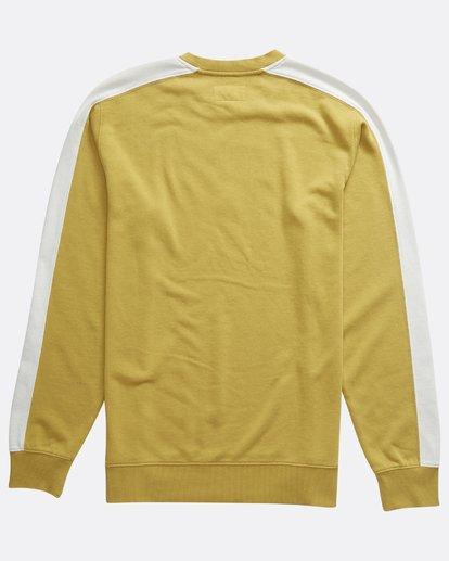 1 Wave Washed - Jersey de Cuello Redondo para Hombre Plateado Q1FL04BIF9 Billabong