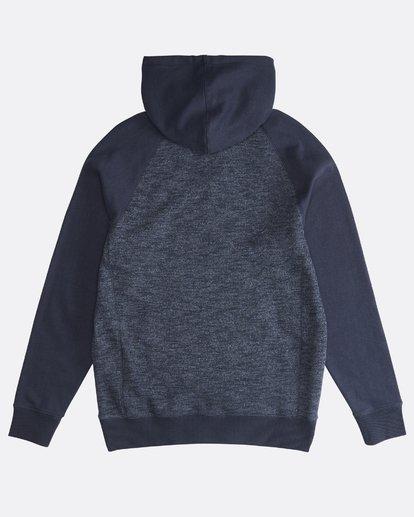 1 Balance Po - Hoodie für Männer Blau Q1FL08BIF9 Billabong