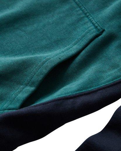 3 Wave Washed - Pullover für Männer Grün Q1FL10BIF9 Billabong