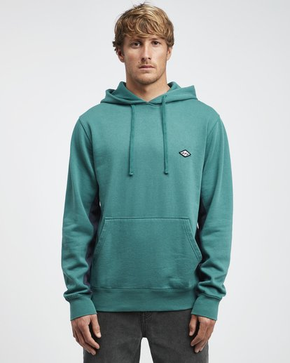 6 Wave Washed - Pullover für Männer Grün Q1FL10BIF9 Billabong