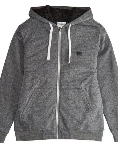 8 All Day - Sherpa Pullover Jacke für Männer Schwarz Q1FL15BIF9 Billabong