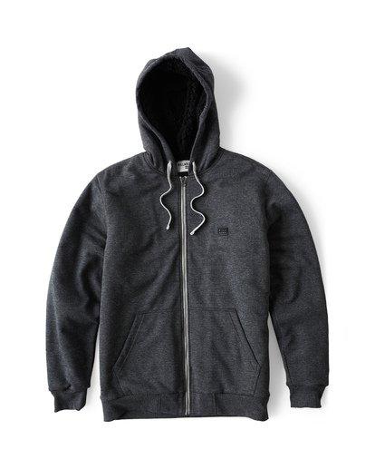 9 All Day - Sherpa Pullover Jacke für Männer Schwarz Q1FL15BIF9 Billabong