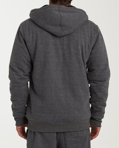 1 All Day - Sherpa Pullover Jacke für Männer Schwarz Q1FL15BIF9 Billabong