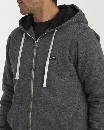 4 All Day - Sherpa Pullover Jacke für Männer Schwarz Q1FL15BIF9 Billabong