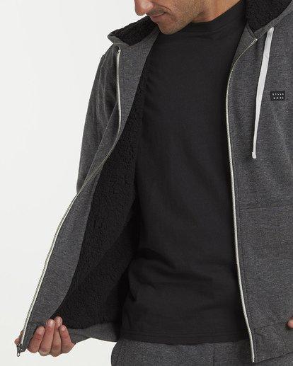 5 All Day - Sherpa Pullover Jacke für Männer Schwarz Q1FL15BIF9 Billabong