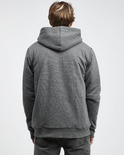 12 All Day - Sherpa Pullover Jacke für Männer Schwarz Q1FL15BIF9 Billabong
