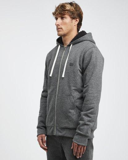 13 All Day - Sherpa Pullover Jacke für Männer Schwarz Q1FL15BIF9 Billabong