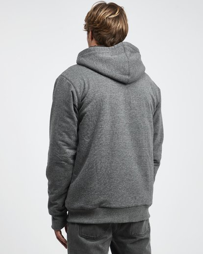 14 All Day - Sherpa Pullover Jacke für Männer Schwarz Q1FL15BIF9 Billabong