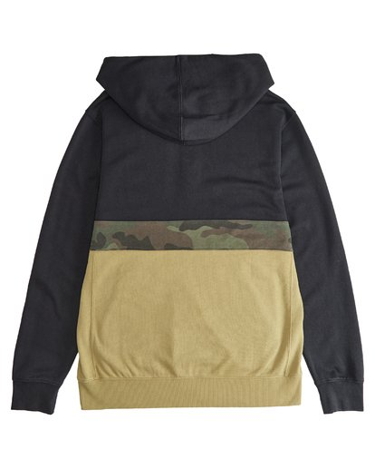 4 Wave Washed - Pullover mit halbem Reißverschluss für Männer Schwarz Q1FL18BIF9 Billabong