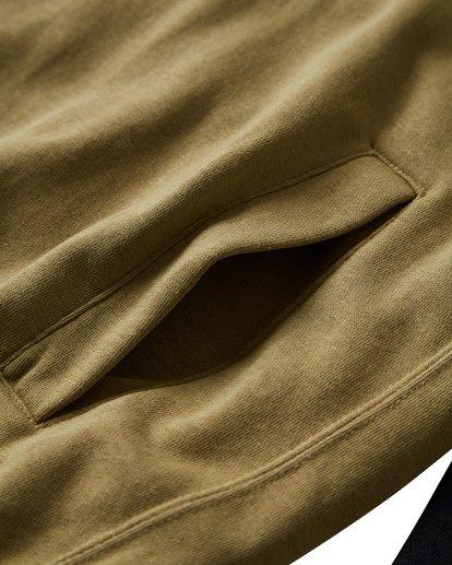 7 Wave Washed - Pullover mit halbem Reißverschluss für Männer Schwarz Q1FL18BIF9 Billabong