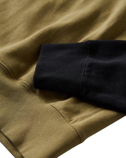 8 Wave Washed - Pullover mit halbem Reißverschluss für Männer Schwarz Q1FL18BIF9 Billabong