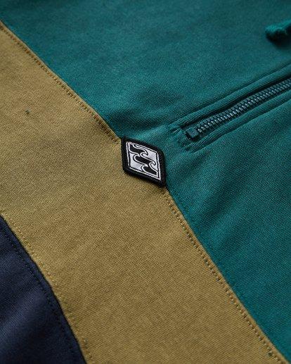 2 Wave Washed - Pullover mit halbem Reißverschluss für Männer Grün Q1FL18BIF9 Billabong