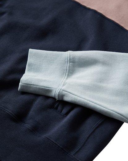 8 Wave Washed - Jersey con Media Cremallera para Hombre Azul Q1FL18BIF9 Billabong