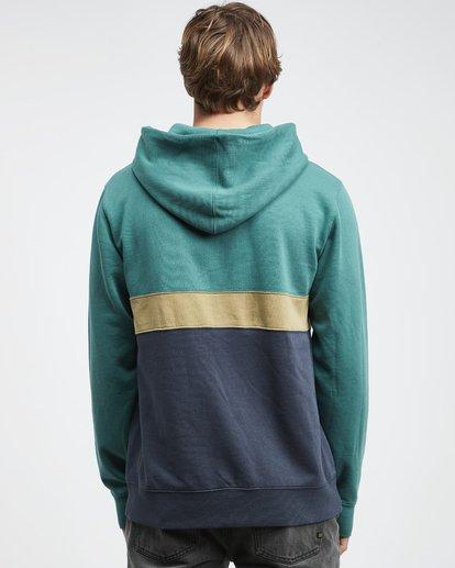 7 Wave Washed - Pullover mit halbem Reißverschluss für Männer Grün Q1FL18BIF9 Billabong