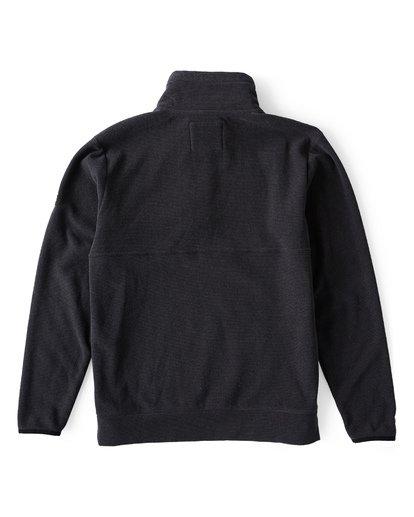 3 Boundary Mock - Pullover mit halbem Reißverschluss für Männer Schwarz Q1FL24BIF9 Billabong