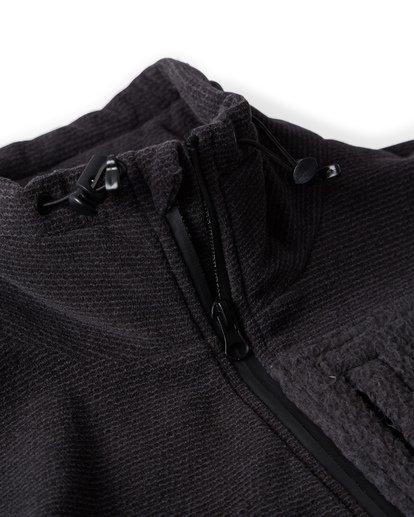 4 Boundary Mock - Pullover mit halbem Reißverschluss für Männer Schwarz Q1FL24BIF9 Billabong