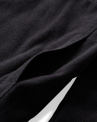 5 Boundary Mock - Pullover mit halbem Reißverschluss für Männer Schwarz Q1FL24BIF9 Billabong