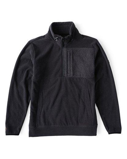 2 Boundary Mock - Pullover mit halbem Reißverschluss für Männer Schwarz Q1FL24BIF9 Billabong