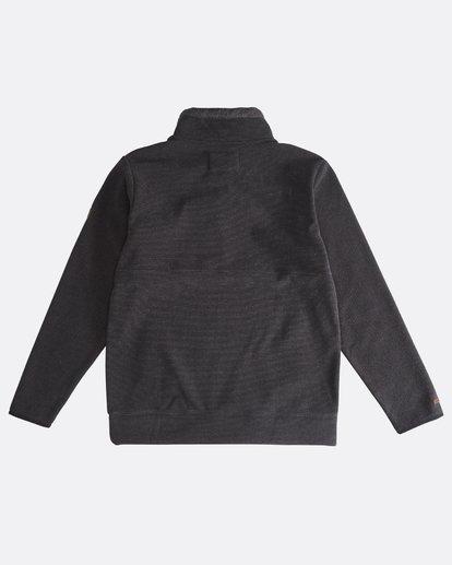 1 Boundary Mock - Pullover mit halbem Reißverschluss für Männer Schwarz Q1FL24BIF9 Billabong