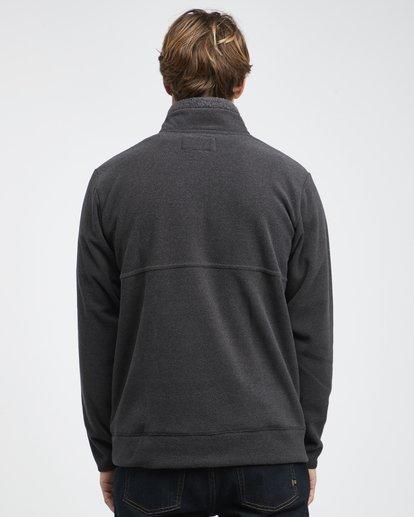8 Boundary Mock - Pullover mit halbem Reißverschluss für Männer Schwarz Q1FL24BIF9 Billabong