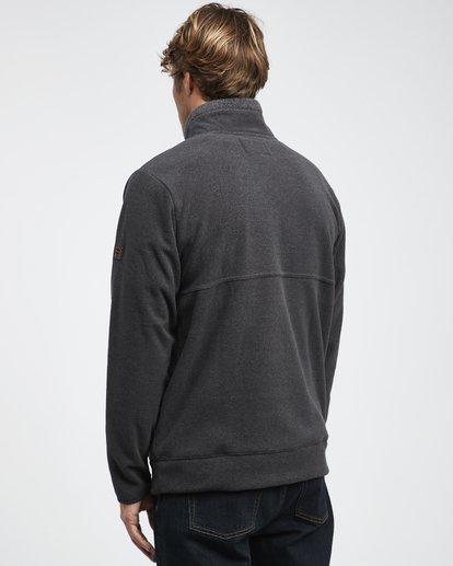 10 Boundary Mock - Pullover mit halbem Reißverschluss für Männer Schwarz Q1FL24BIF9 Billabong