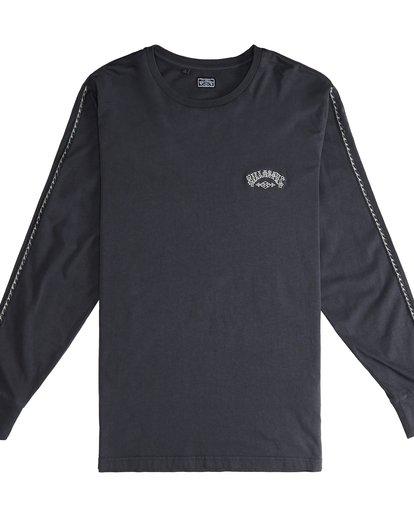 2 Track - Langärmeliges T-Shirt für Männer Schwarz Q1JE07BIF9 Billabong