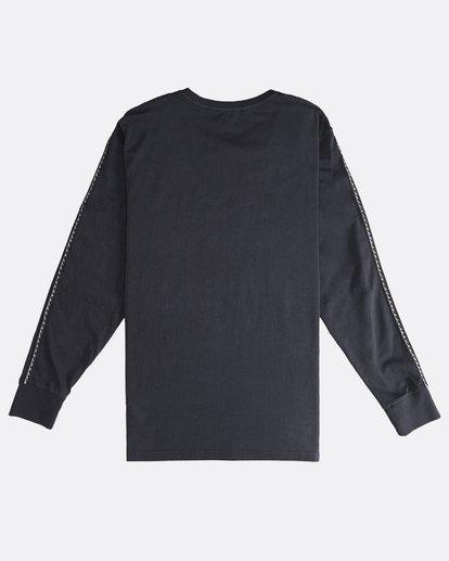 1 Track - Langärmeliges T-Shirt für Männer Schwarz Q1JE07BIF9 Billabong