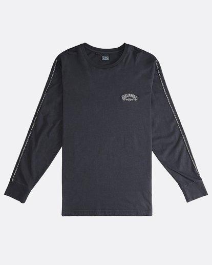 0 Track - Langärmeliges T-Shirt für Männer Schwarz Q1JE07BIF9 Billabong