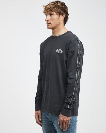 6 Track - Langärmeliges T-Shirt für Männer Schwarz Q1JE07BIF9 Billabong