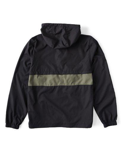 12 Wind Swell - Anorak Jacket for Men Black Q1JK01BIF9 Billabong