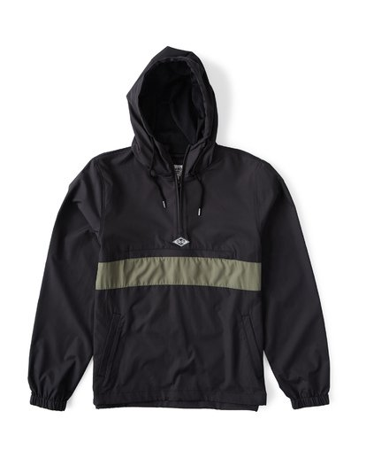 11 Wind Swell - Anorak Jacket for Men Black Q1JK01BIF9 Billabong