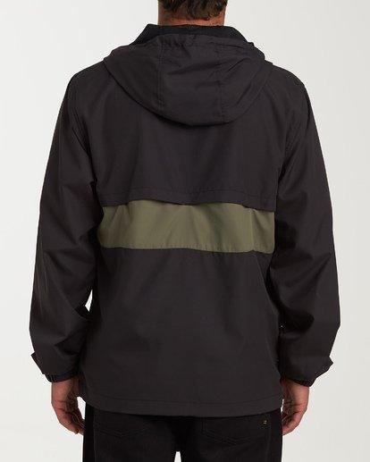1 Wind Swell - Anorak Jacket for Men Black Q1JK01BIF9 Billabong