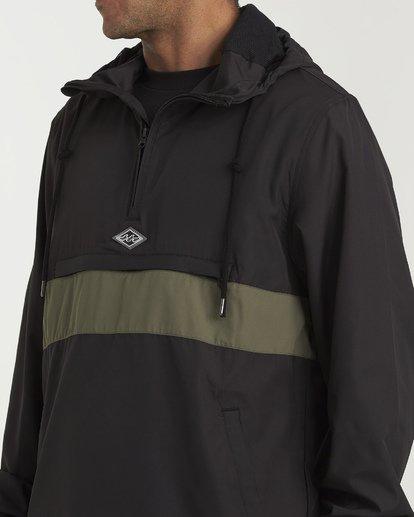 4 Wind Swell - Anorak Jacket for Men Black Q1JK01BIF9 Billabong