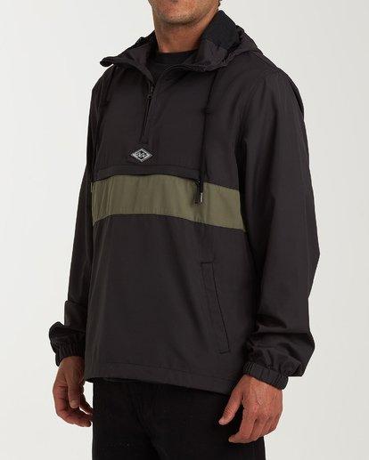 2 Wind Swell - Anorak Jacket for Men Black Q1JK01BIF9 Billabong