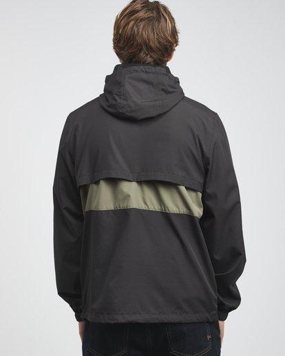 18 Wind Swell - Anorak Jacket for Men Black Q1JK01BIF9 Billabong