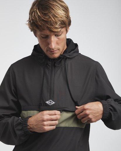 9 Wind Swell - Anorak Jacket for Men Black Q1JK01BIF9 Billabong