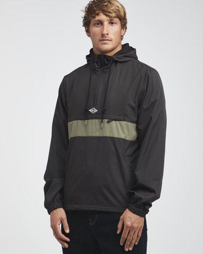 7 Wind Swell - Anorak Jacket for Men Black Q1JK01BIF9 Billabong