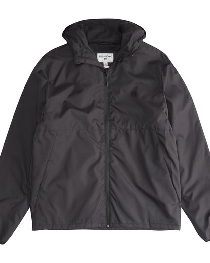 2 Transport - Windbreaker for Men Black Q1JK05BIF9 Billabong